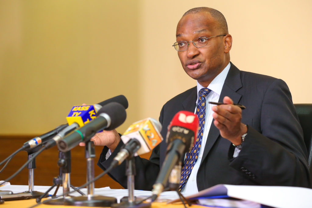Central Bank of Kenya Governor, Dr Patrick Njoroge