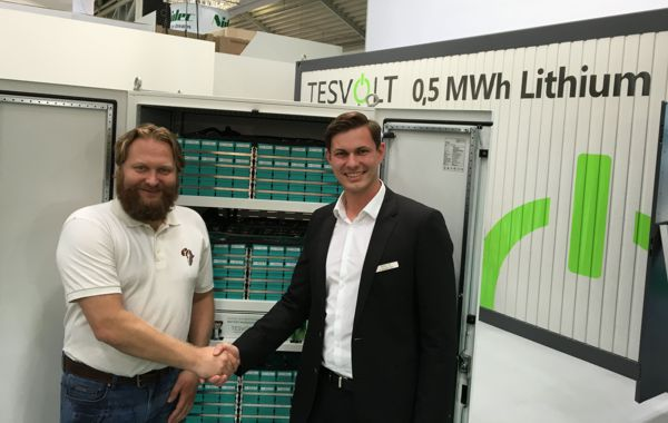 (Image source: Africa Green Tec) Torsten Schreiber, Managing Director of Africa Green Tec, and Simon Schandert, Director of Engineering at Tesvolt
