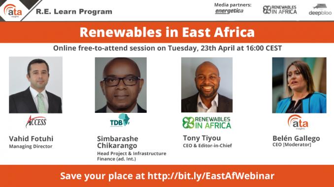 Renewables in East Africa
