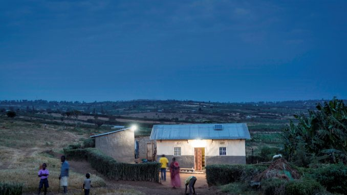 Market leader in the off-grid solar in Africa offer affordable energy products